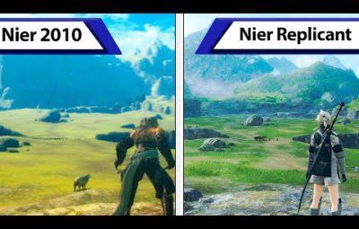 Сравнение западной оригинальной Nier Replicant и ремастера Nier Replicant Ver.1.22474487139