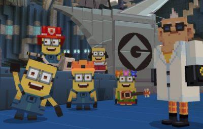 Minecraft получила дополнение с миньонами из мультфильма«Гадкий я»