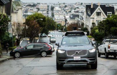 """Очевидцы аварии с робомобилем Uber винят в ДТП автопилотируемый кроссовер"""""""