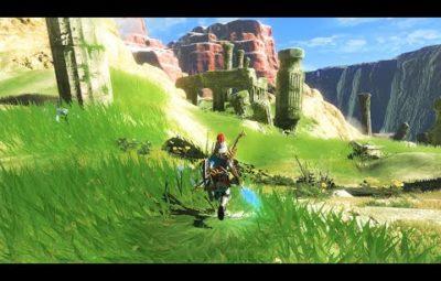 Геймплей The Legend of Zelda: Breath of the Wild в 8K и с трассировкой лучей
