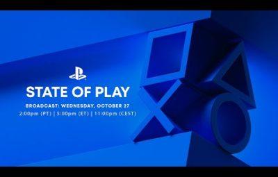 Прямой эфир с октябрьской презентации State of Play от Sony — старт в 00:00 по Москве
